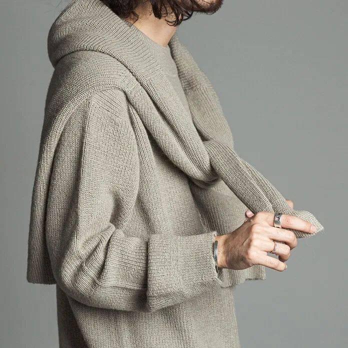 针织设计   5种针织单品!从细节处创新,演绎2021/22秋冬男装的时尚态度