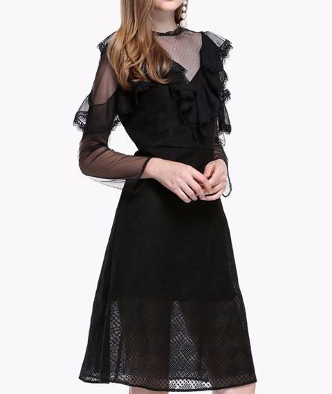 欧根纱布料 纱布服装面料婚纱裙子刺绣网纱透明硬纱 蕾丝布料