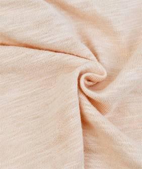 16S棉竹节平纹 T恤面料 针织面料竹节棉布 纯棉童装布料