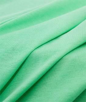 针织面料纯棉布料精梳爽棉强捻棉麻手感纯色服装汗布T恤针织布