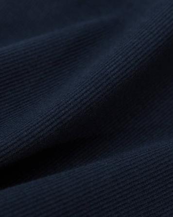 精梳棉罗纹拉架 纯棉弹力莱卡罗纹袖口领口T恤服装面料
