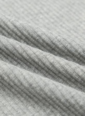 纯棉细坑条布料螺纹t恤打底衫坑条棉布宝宝服装面料
