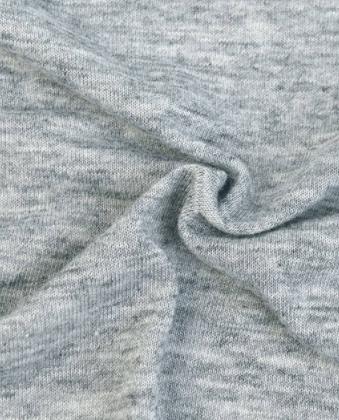 纯色针织面料 精梳羊毛棉混纺 T恤打底衫服装布料 TR绒布