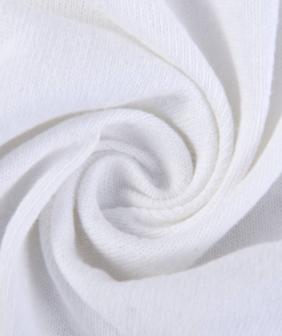 粗纺麻 纯棉针织面料 棉麻手感挺括T恤打底衫布料 OE棉