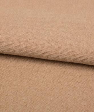 雪绒棉卫衣面料高档秋冬保暖运动风纯棉毛圈磨毛加绒加厚卫衣布