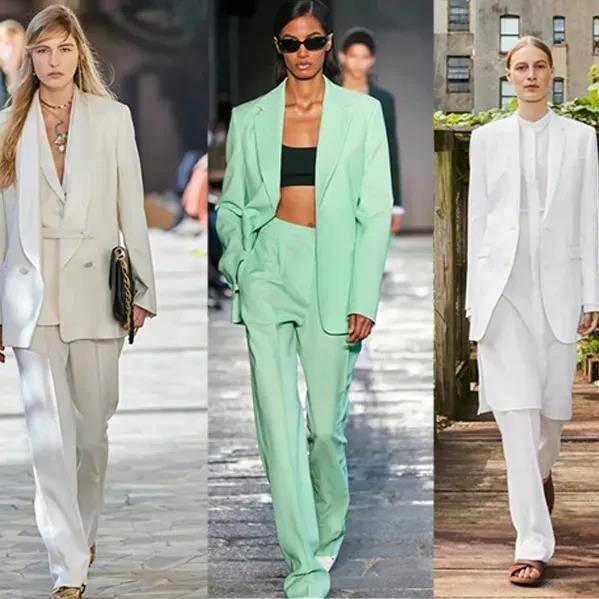 2021SS女式西装流行趋势分析