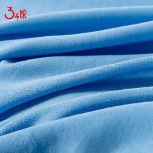 317亚麻棉梭织面料上衣衬衫裤子裙装服装布料麻布